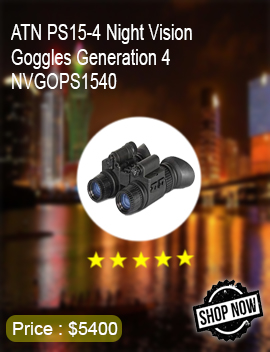 ATN PS15-4 Night Vision Goggles Generation 4 NVGOPS1540