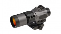 Sig Sauer Romeo6H Red Dot Sight, Ballistic Circle Dot Reticle, .5 MOA, Batery Trey, Hex Bolt Mount, SOR61011