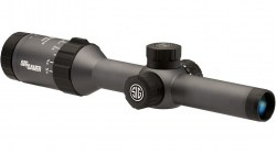 Sig Sauer Whiskey5 1-5x20 1in Tube Hunting Riflescope w CirclePlex Illuminated Fiber Dot Reticle