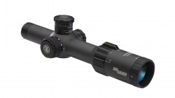 Tango4 Riflescope, 1-4X24mm, 30mm, Ffp, 556-762 Horseshoe Illum Reticle