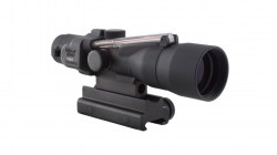 Trijicon ACOG 3x30 Compact Riflescope, Red Crosshair .223 REM Reticle